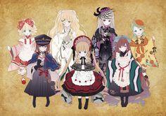 ファンブログ Anime Titles, Anime Characters, Manga Art, Anime Art, Chibi, Anime Krieger, Peach Pit, Anime Warrior, Kawaii Stickers