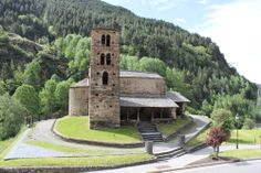 The most important ski resorts in Andorra It is interesting to see the old cities of Andorra la Vella, Caldea and Encamp, where well-preserv. Historical Landmarks, Famous Landmarks, Andorra Ski Resorts, Great Places, Places To Visit, Travel Around Europe, European Tour, Romanesque, Old City