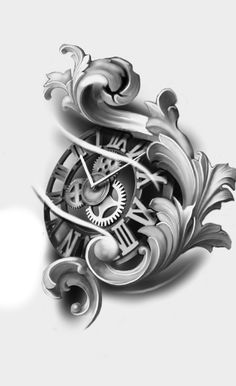 Card Tattoo Designs, Clock Tattoo Design, Sketch Tattoo Design, Clock Tattoos, Tattoo Sketches, Lion Tattoo Sleeves, Arm Sleeve Tattoos, Celtic Tattoo Symbols, Celtic Tattoos