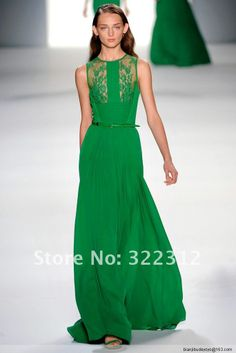 Aliexpress.com : Buy 2014 Elie Saab Couture Green Chiffon Sweetheart Handmade Flower Elegant Celebrity Beautiful Long Prom Dress Evening Ball Gown from Reliable gowns white suppliers on High Fashion Dress $229.99
