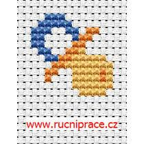 Discover thousands of images about Dummy, free cross stitch Tiny Cross Stitch, Baby Cross Stitch Patterns, Cross Stitch Heart, Cross Stitch Cards, Beaded Cross Stitch, Cross Stitch Designs, Cross Stitching, Cross Stitch Embroidery, Embroidery Patterns