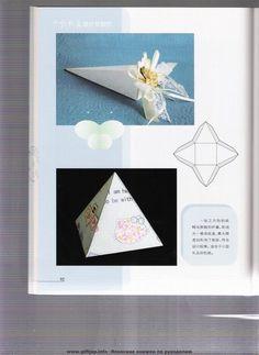 folding boxes: origami books - crafts ideas - crafts for kids Book Crafts, Diy And Crafts, Crafts For Kids, Paper Crafts, Pocketfold Invitations, Origami Box, Cute Box, Paper Gift Box, Craft Box