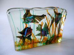 1950s Cenedese Murano Art Glass Aquarium