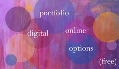 4 web hosted portfolio options (free!); by land8