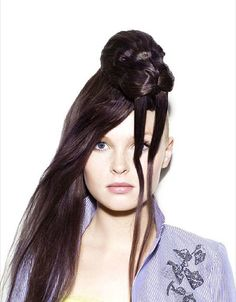 Meisjes met sculpturen in hun haar | EnDanDit