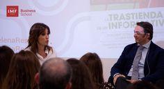 Helena Resano presentó en IMF su primer libro La Trastienda de un Informativo donde describe desde su experiencia cómo se gesta un telediario y cómo es la rutina de un periodista de televisión.