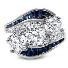 The Downton Ring #BrilliantEarth #Vintage