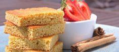 Kokosový piškot s jahodami – Uzdravte se jídlem! Cornbread, Sugar Free, Ethnic Recipes, Food, Millet Bread, Essen, Meals, Yemek, Corn Bread