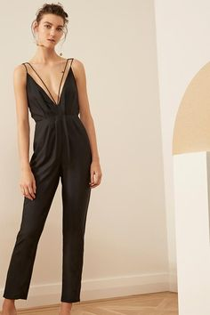 5b1659eb2e5 SET IN STONE JUMPSUIT black SET IN STONE TRENCH black from cmeo-collective  Format Collection