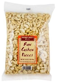 Trader Joe's issued a recall Sunday for its raw cashew pieces after the company was contacted by a supplier about possible salmonella contamination.