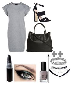 """De""rras dark side"" by alanna-perez-linares on Polyvore featuring Carvela, Prada, Bobbi Brown Cosmetics, Amberly Cross, Wet Seal and John Hardy"