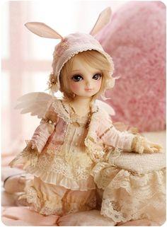 Little pink angel #bjd