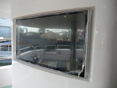 Videotree Outdoor TV installed in Sunseeker Princess AVK Yacht on Deck Area