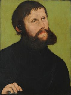 "Лукас Кранах Старший .Лютер, замаскированный под "" Юнкер Йорг "", 1521"