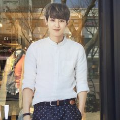 Unbelieveble that I still can find pictures of him that I haven't already saved. My dear Chanyeol<3