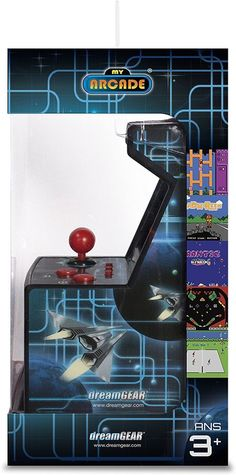 My Arcade Retro Machine Handheld Gaming System with 200 Built-in Video Games #RetroGames