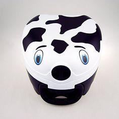 Mi orinal transportable para viaje - vaca - My Carry Potty es lo ultimo en bacinicas para uso en el hogar o en viajes - Fijado con un ingenio