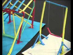 8-8_SPEELTUIN.avi - YouTube Popsicle Stick Crafts, Popsicle Sticks, Craft Stick Crafts, Crafts For Kids, Diorama Kids, Playgrounds, Art Club, Second Grade, New Art
