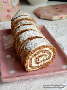 Czech Desserts, Cookie Desserts, Breakfast Biscuits, Breakfast Cookies, Sweet Recipes, Cake Recipes, Dessert Recipes, Healthy Cake, Healthy Desserts