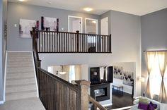 Great Room Stairs Great Rooms, My House, Stairs, Loft, Bed, Furniture, Home Decor, Ladders, Homemade Home Decor