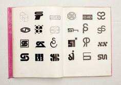 068.jpg (1600×1130) TRADE MARKS & SIMBOLS Volume 1: Alphabetical Designs | YASABURO KUWAYAMA #logo #design #Inspiration #graphic #shape #best #awesome #typography #best #pactice