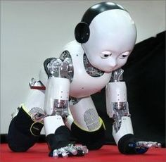 """Publicado el Here we present the first integration of the framework for manipulation execution based on the so called """"Semantic Event Chain"""" on the iCub robot. Drones, Robot Humanoïde, Embodied Cognition, Robots For Sale, Real Robots, Smartphone, Humanoid Robot, Robot Design, Retro Futurism"""