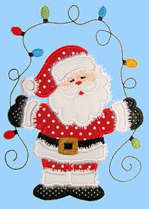 Sew Many Designs Embroidery Applique Christmas Santa Design-HAVE