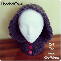 Hooded Cowl https://www.facebook.com/OffTheHookCraftiness