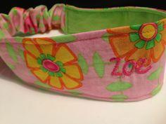 Custom order monogram. Pretty in pink!  (Find me on Facebook at Ahuva Penina Designs).