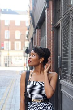 Pinned Up hairstyle. Elegant hairstyles. Hair and fashion. Natural hair. Low manipulation hairstyle. Length retention hairstyles. Kinky textures. Hairstyles for natural hair. Hairstyles for Afro hair.