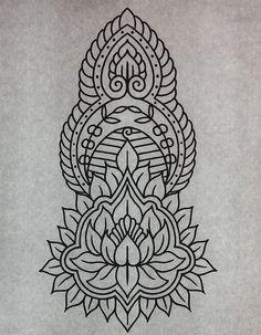 ornament tattoo design - Google zoeken