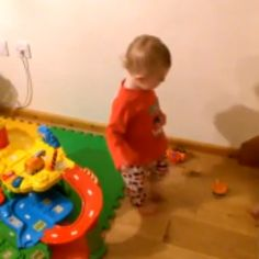 This Adorable Toddler Finds a New Playmate and Your Heart Will Explode As You Watch Him Play: Cuteness Overload!
