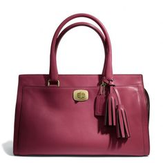 Coach Legacy Chelsea Carryall In Leather ($358)