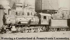 Old Steam Locomotive and Railroad Photographs
