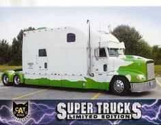 20 foot sleeper. King of the Road. Now on Ebay.