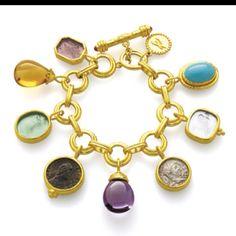 charm bracelet, Elizabeth Locke