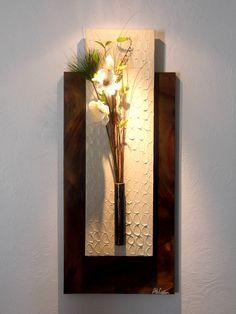 Tableau floral mural design moderne : Décorations murales par arte-creation