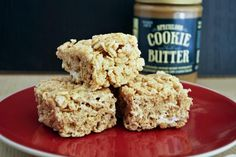 Cookie Butter Rice Krispy Treats