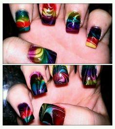 Love this nail art!!