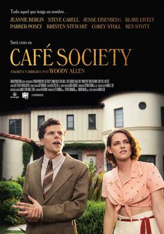 cafe society movie poster | http://www.atozpictures.com/cafe-society-movie-pictures