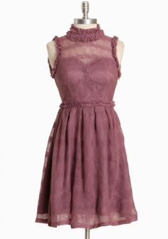 reminds me a little of pretty in pink. this one is pretty in mauve. Dress P, Knit Dress, Mauve Wedding, Corporate Attire, Vintage Inspired Dresses, Office Fashion, How To Look Pretty, Pretty Dresses, Cute Outfits