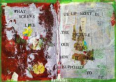 N*Studio » Winding Down: My Top Ten Art Journal Pages of 2014