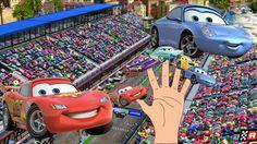 CARS Finger Family Nursery kids rhyme | Finger family song or phonic for...