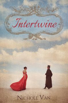 INTERTWINE by Nichole Van. Time-travel romance. In 2012, Emme Wilde can't find the right guy. Obsessed by the portrait of an unknown man in an old locket, she travels to England to uncover his history and conquer the strong connection she feels. In 1812, James Knight has given up finding the right woman. But then he finds a beautiful mystery woman, dripping wet and half-dead, beneath a tree on his estate. Now if he can uncover her history, perhaps adventure—and romance—will find him at last.