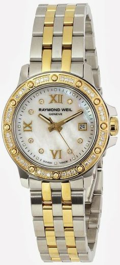 #Raymond Weil #Women's 5399-SPS-00995 Tango Date Two-Tone 44 Diamonds #Watch
