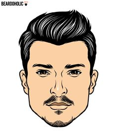 Facial Hair Styles Magnificent This Is The Best Beard Style For Every Face Shape  Pinterest