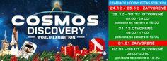 Výstava Cosmos Discovery končí 8. januára - Kultúra - TERAZ.sk