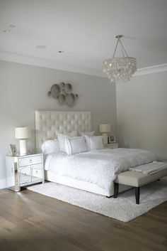 Bedroom Lighting. Horchow Aurora 3 Light Cadiz Shell Chandelier In Silvery # Bedroom #lighting