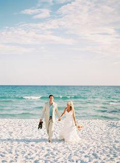 Beach wedding #MyHOFWeddingLook