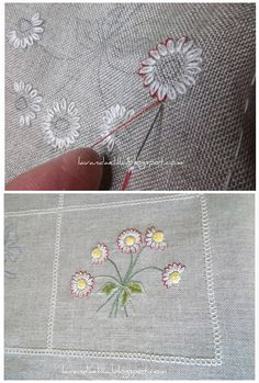 #Embroidery #Summer #Flowers